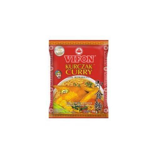 Zupa błyskawiczna Kurczak Curry o smaku kurczaka ostra 70 g Vifon