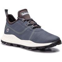 Sneakersy TIMBERLAND - Brooklyn Fabric Oxford TB0A1YZS033 Medium Grey Ripstop, kolor szary