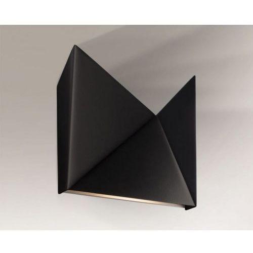 Agi kinkiet 4422/g9/cz 16cm czarny marki Shilo