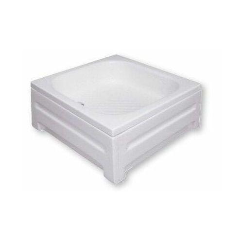 POLIMAT Brodzik kwadratowy 70x70x15cm, akrylowy 00207