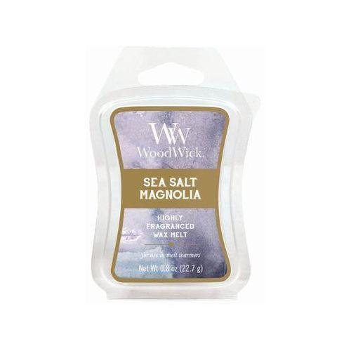 Woodwick - wosk zapachowy artisan - sea salt magnolia 10h