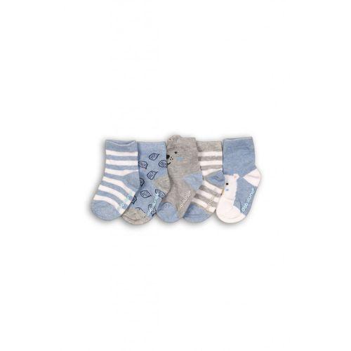 Skarpetki niemowlęce z abs 5pak 5v35a8 marki Minoti