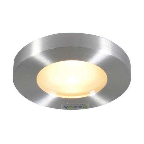 Oprawa do wbudowania anex łazienkowa okrągła aluminium marki Qazqa