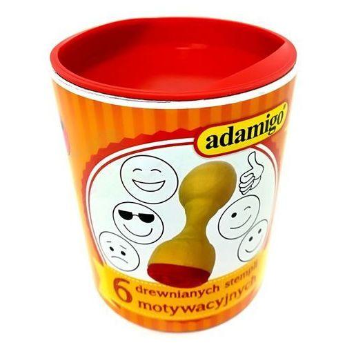 Adamigo Stemple buźki emotki stempelki dla dzieci
