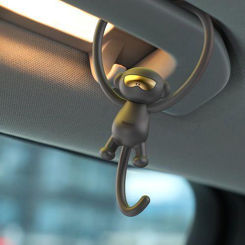 Baseus monkey car fragrance uniwersalny odświeżacz powietrza zapach samochodowy czerwony (suxun-mk09)