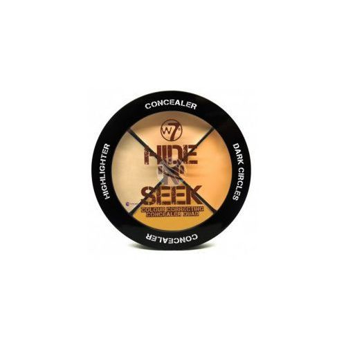 W7 Hide 'N' Seek Concealer (W) paleta 4 korektorów do twarzy Natural 5g