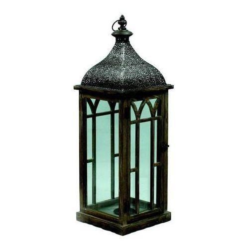 Latarnia drewniana Orient 72 cm