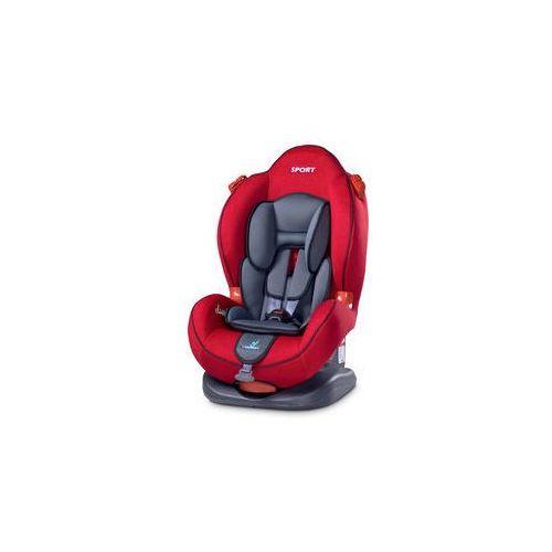 Fotelik samochodowy Sport Classic 9-25kg Caretero (czerwony), Sport Classic red