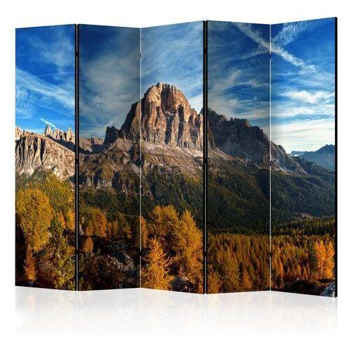 Parawan 5-częściowy - widok panoramiczny na włoskie dolomity ii [room dividers] marki Artgeist