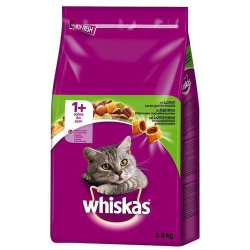 Whiskas 1+ z jagnięciną - 3,8 kg