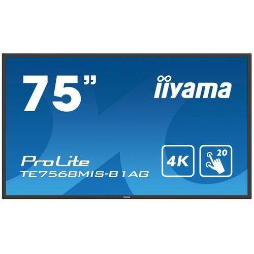 "Iiyama Monitor interaktywny prolite te7568mis-b1ag 75"""