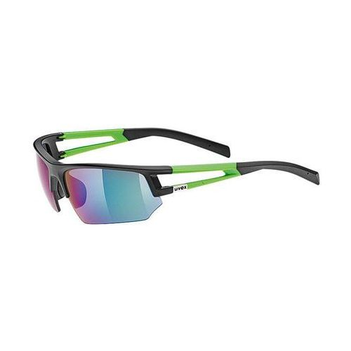 Okulary sportstyle 110 692/2716 czarno-zielone marki Uvex