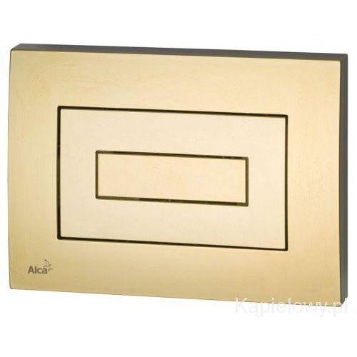 Przycisk spłuczki podtynkowej, złoty M475