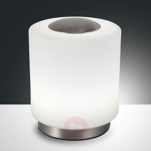 Ściemniana lampa stołowa Simi z funkcją dotykową