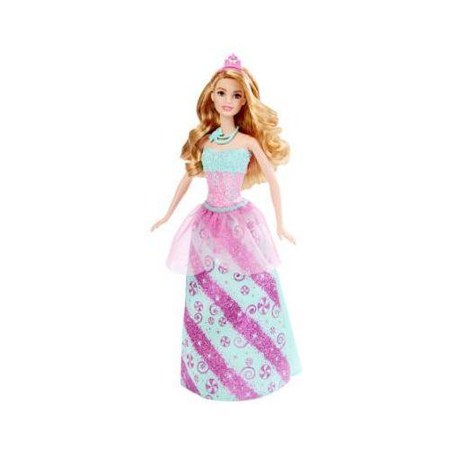 Mattel  cukierkowa księżniczka - różowa dhm54 marki Barbie