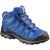 buty dziecięce x-ultra mid gtx j blue yonder/bl/gr 32 marki Salomon