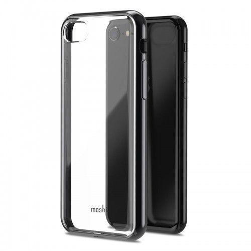 Moshi Vitros - Etui iPhone 8 / 7 (Raven Black), kolor czarny