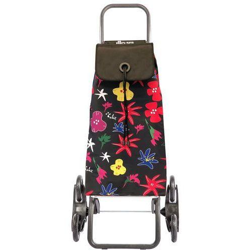 Rolser logic rd6 i-max wózek na zakupy / 6-kołowy na schody / imx140 arazzo negro