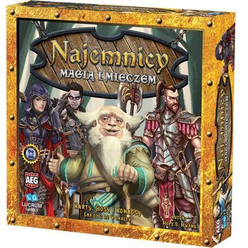 Lucrum Najemnicy: magią i mieczem - games (5907377129103)