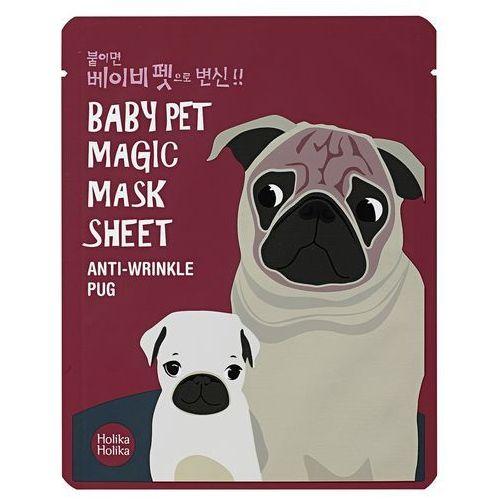 Holika Holika Baby Pet Magic Mask Sheet Anti-Wrinkle Pug - Maseczka do twarzy (8806334359904)