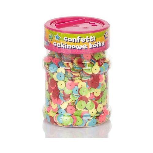 Astra papiernicze Confetti cekiny kółka mix astra