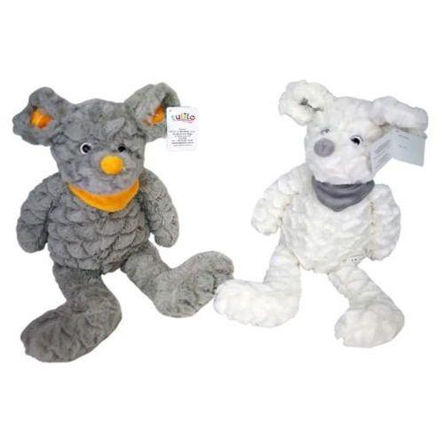 Pluszak myszka frania biała 25 cm - darmowa dostawa od 250 zł!! marki Axiom