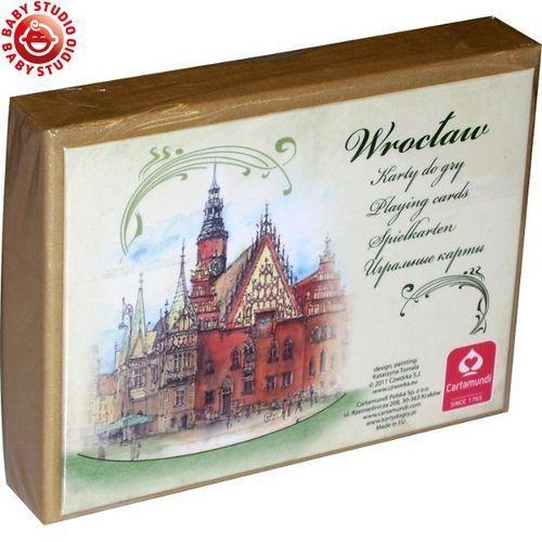 Karty Wrocław akwarele 2 talie - produkt z kategorii- Gry karciane