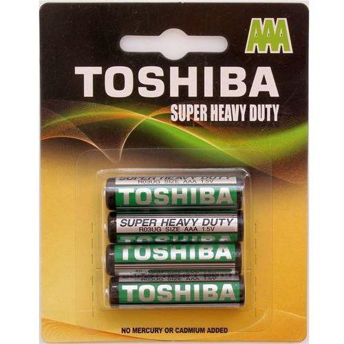 Baterie cynkowo-węglowe r03ug bp-4tgte ss r03ug bp-4tgte ss - odbiór w 2000 punktach - salony, paczkomaty, stacje orlen marki Toshiba