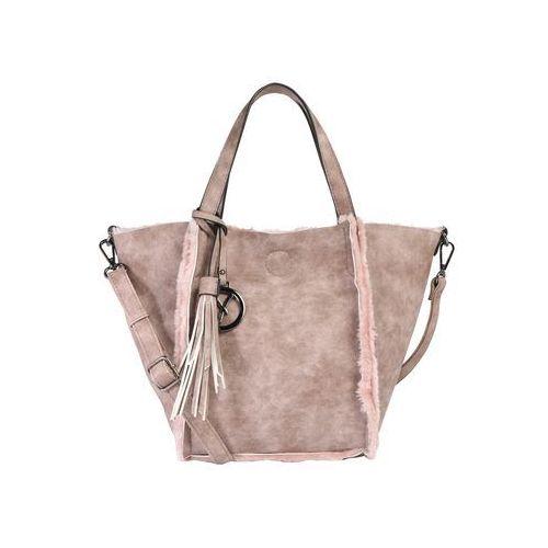 Suri Frey Torba shopper 'Nessy' różowy pudrowy, kolor różowy
