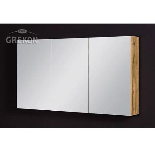 Gante Szafka łazienkowa z lustrem 120x65 seria fokus ne