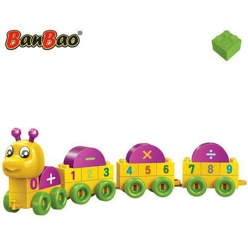 BanBao Gąsienica, liczby, klocki do budowania, 9103 Darmowa wysyłka i zwroty