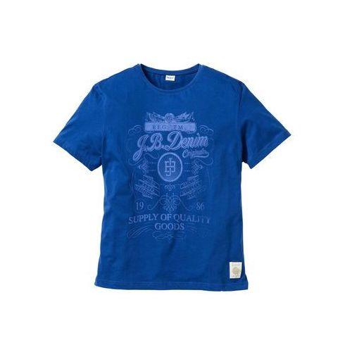 T-shirt Regular Fit bonprix niebieski