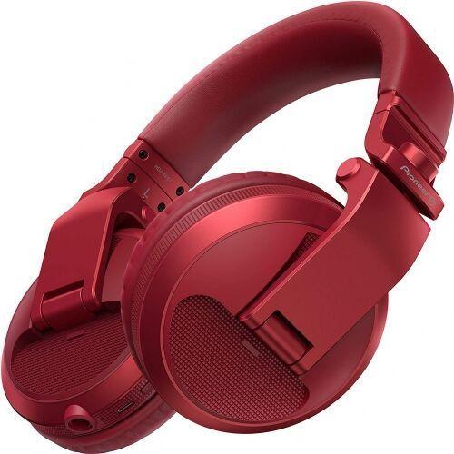 OKAZJA - Pioneer HDJ-X5-BT-R czerwone słuchawki bezprzewodowe DJ (Bluetooth)