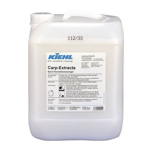 Kiehl Carp Extracta 10L Płyn do ekstrakcyjnego czyszczenia dywanów z kategorii Dywany