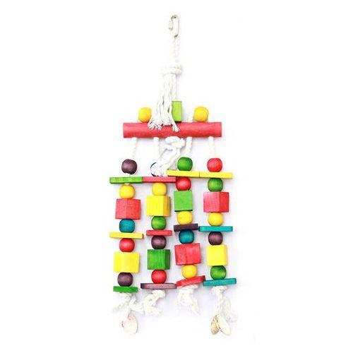 Zabawka dla ptaka Blocks N Beads marki HappyPet