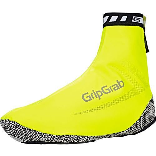 Gripgrab raceaqua hi-vis osłona na but żółty l 2018 ochraniacze na buty i getry (5708486113003)