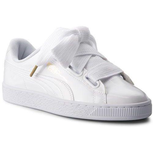 ee762ae4 Puma Sneakersy - basket heart patent 363073 02 puma white/puma white