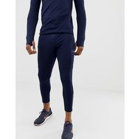 ASOS 4505 super skinny training joggers with zip cuff in navy - Navy