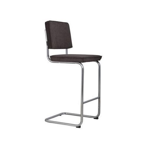 Zuiver stołek barowy ridge rib szary 6a 1500205 (8718548012332)