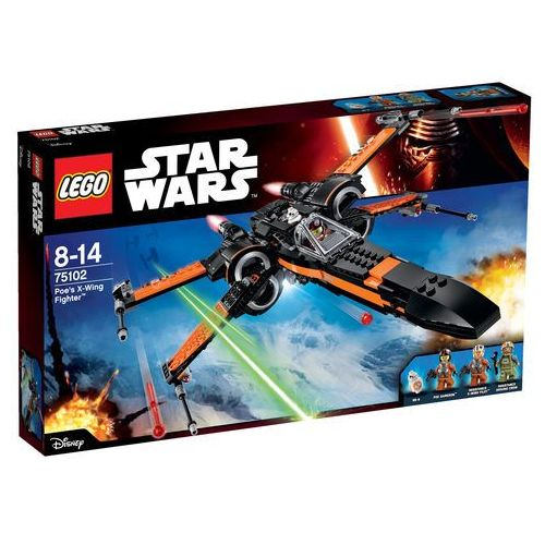Lego Star Wars Poe's X-Wing Fighter 75102, klocki
