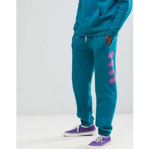 Santa Cruz Oval Dot print jogger in blue - Blue, kolor niebieski