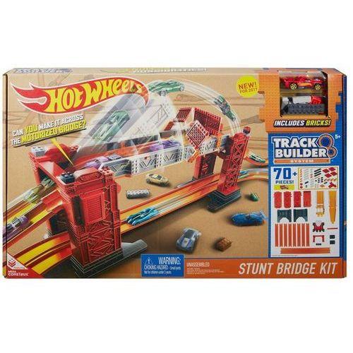 Zestaw hot wheels kaskaderski most dww97 + darmowy transport! marki Mattel