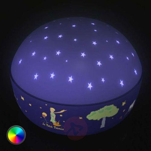 Piękna lampa nocna LED Mały Książę (4036239800360)