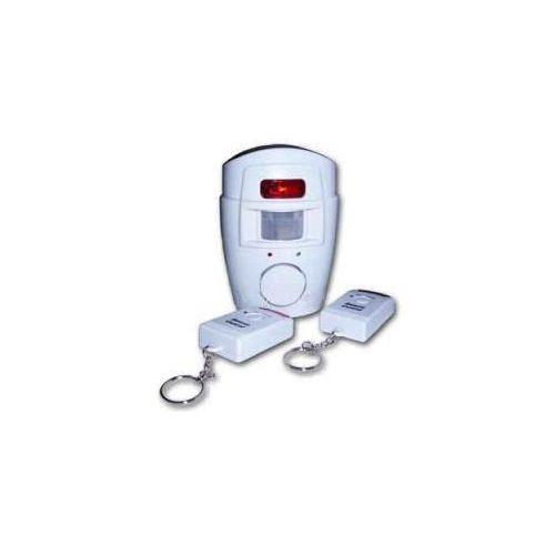 Alarm bezprzewodowy z czujką ruchu + 2 piloty. marki Security products ltd.