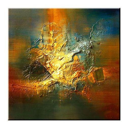 Kolorowe obrazy recznie malowane
