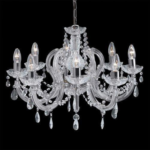 Searchlight 399-8 marie therese lampa wisząca kryształowa