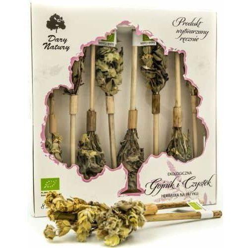 Dary natury Herbatka na patyku gojnik i czystek 8 szt -