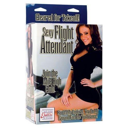 OKAZJA - California exotic novelties Dmuchana lalka seksowna stewardessa zdejmowany mundur