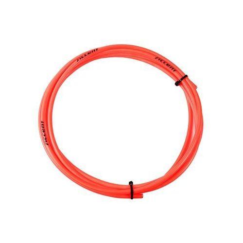 610-22-437_ACC Pancerz hamulcowy Accent 5 mm - 3 metry czerwony fluo (5902175647644)