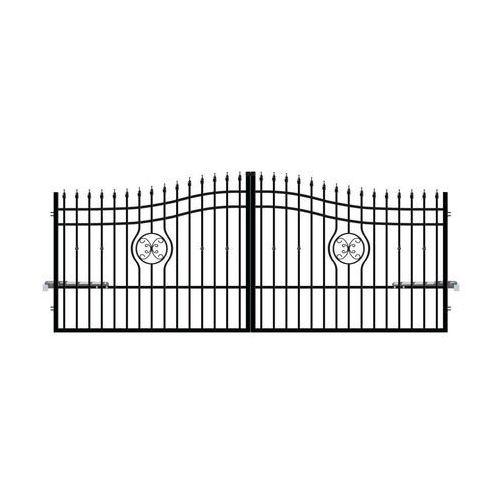 Brama dwuskrzydłowa z automatem MALAGA 3 400 cm POLARGOS (5902360107533)